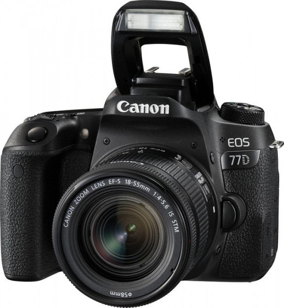 Canon EOS 77D Kit mit EF-S 18-55 IS STM