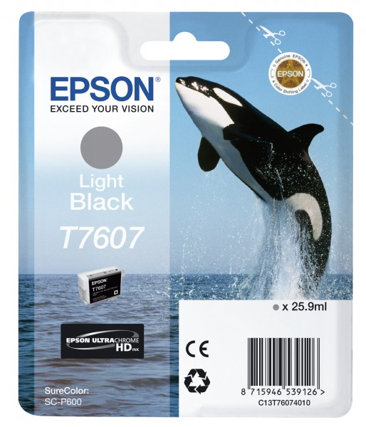 Epson T7607 Light Black 25,9ml