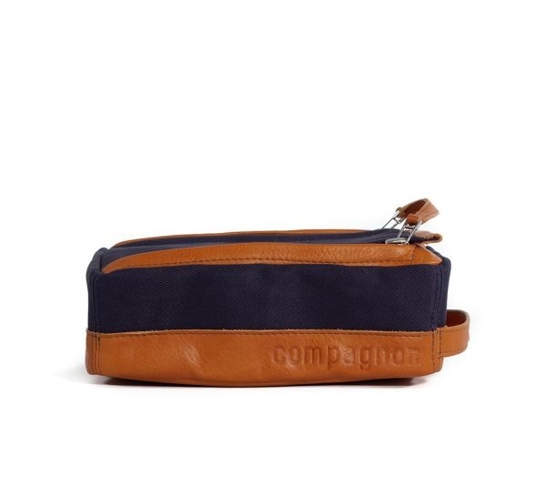 Compagnon The Toolbag blue/lightbrown