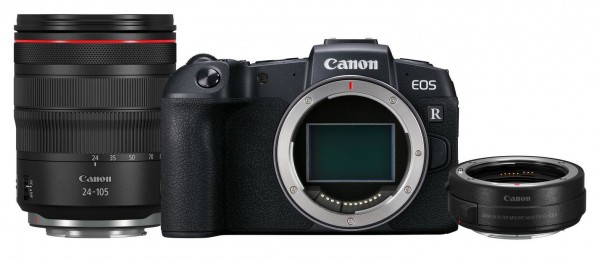 Canon EOS RP Kit Body + RF 4,0/24-105 mm + Adapter EF-EOS R