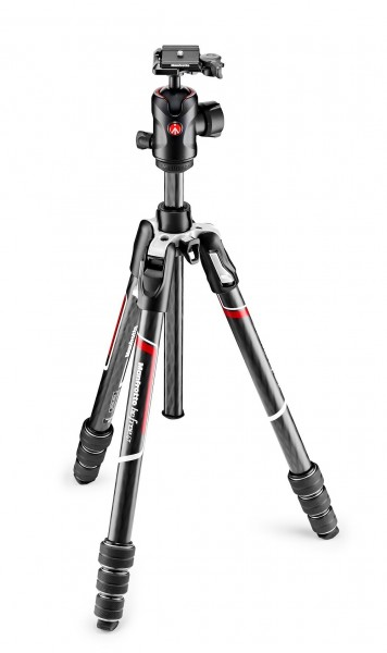 Manfrotto MKBFRTC4GT-BH Befree GT Carbon Stativ--Set