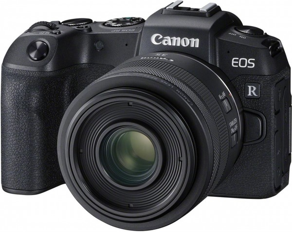 Canon EOS RP mit RF 35 Makro (ohne Adapter)