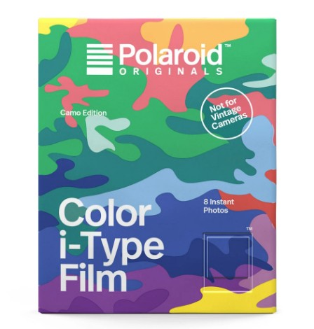 Polaroid Sofortbildfilm Color Camo Edition  für I-Type