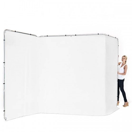 Manfrotto LB7621 Panoramic Background 4m schwarz