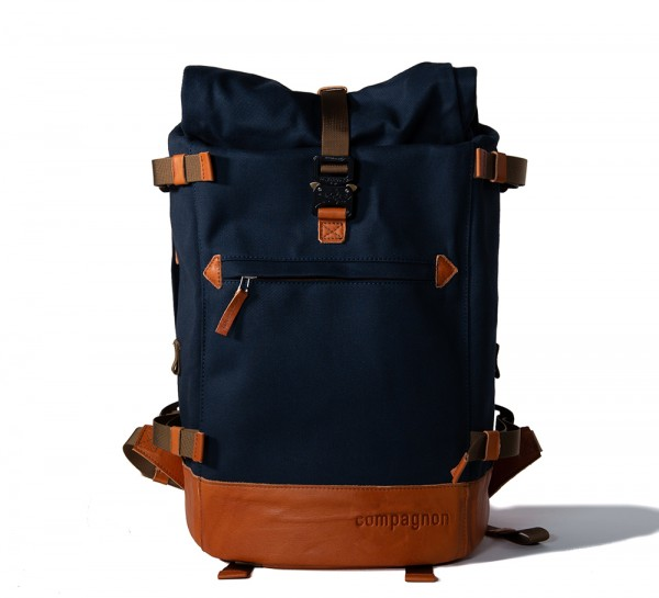 Compagnon The Backpack V2.0 blue/light/brown