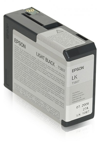 Epson T5807 Light Black 80ml