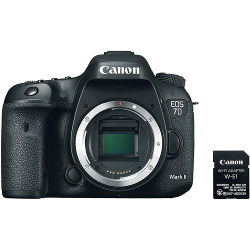 Canon EOS 7D Mark II Body mit WiFI Adapter