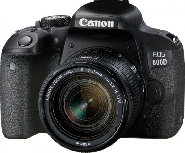 Canon EOS 800D mit EF-S 18-55/4,0-5,6 IS STM