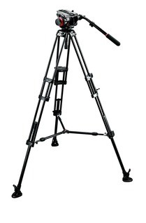 Manfrotto 546BK, 504HD inkl. MBAG100PN